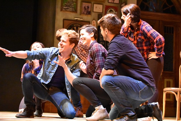 The cast of Stan Rogers: A Matter of Heart performs. - REBECCA DINGWELL