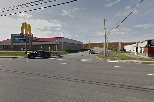 The future home of Nova Scotia's newest medical centre (back beyond that Home Outfitters). - VIA GOOGLE EARTH