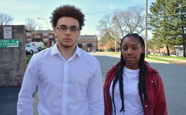 Josh Creighton and Kyturera Jones are both members of the North-End Community Action Committee. - THE COAST