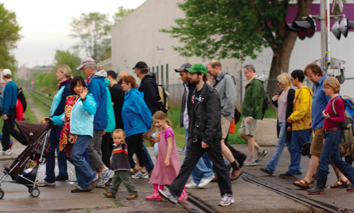 Rain or shine, HRM residents will be out this weekend to see their city in a new light. - VIA JANE'S WALK