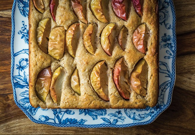 Baked apple pudding is part of Pantry and Palate's crash course in Acadian - timelines and taste. - NOAH FECKS