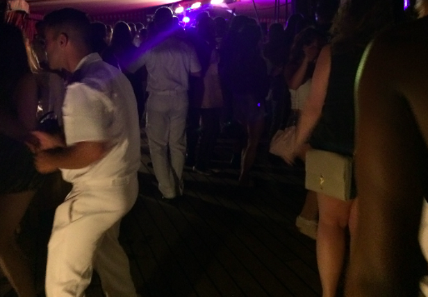 Party-goers on board—only women invited by the Italian sailors—were given free alcohol with abandon. - CHRISTY SOMOS