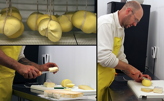 """""""I just try to make a living,"""" says Comencini, who's been making cheese for 30 years."""