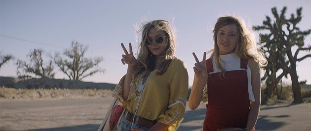 Elizabeth Olsen (left) and Aubrey Plaza in Ingrid Goes West. - VIA IMDB