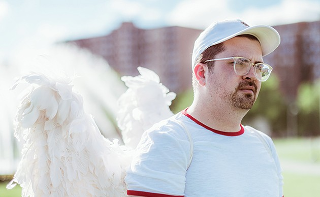 Touched By Too Many Angels: Part stand-up, part-autobiographical one-man play. - SUBMITTED