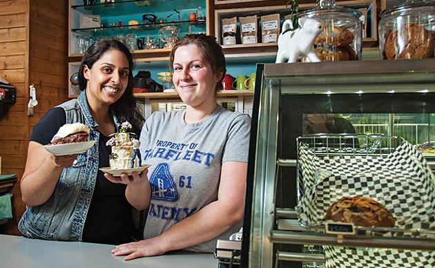 Baker BFFs Saf Haq and Lisa Brow - LENNY MULLINS