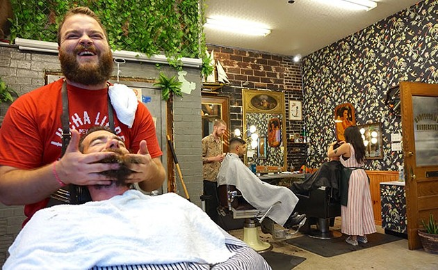 Quinpool rewards visitors with great restaurants, interesting shops and hidden gems like Oddfellows Barbershop. - SUBMITTED PHOTO
