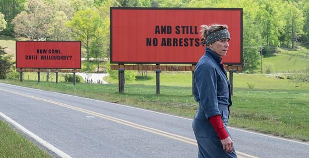 Review: <i>Three Billboards Outside Ebbing, Missouri</i>
