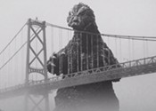 April brings Godzilla, traffic delays