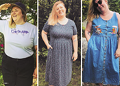 Vintage clothing for plus bodies, by plus bodies