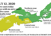 Just the news on COVID-19 in Nova Scotia, for the week starting July 6