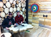 Timber Lounge brings axe throwing to Agricola Street