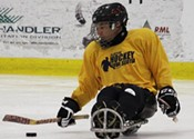 On the sledge of their seats: A sledge hockey breakdown