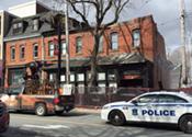 Demolition begins on Doyle Street block
