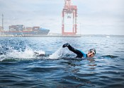 Swimming in Halifax Harbour