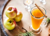 Hot Rum Holiday Cider