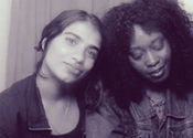 <I>Two Brown Girls</i> live taping