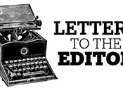 Letters to the editor, January 12, 2017