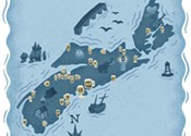 Can't stop, won't stop: a map of Nova Scotia's breweries