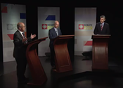 Stephen McNeil gets grilled during leaders' debate