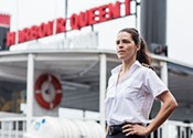 Lise Portelance is a harbour queen