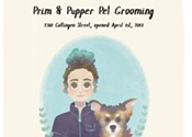 Where I work: Prim & Pupper Pet Grooming