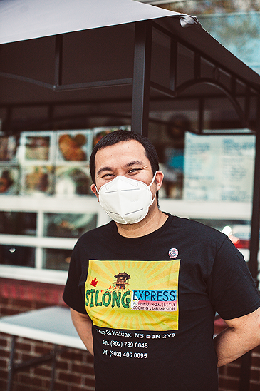 Authentic Filipino street fare in Fairview from Silong Express
