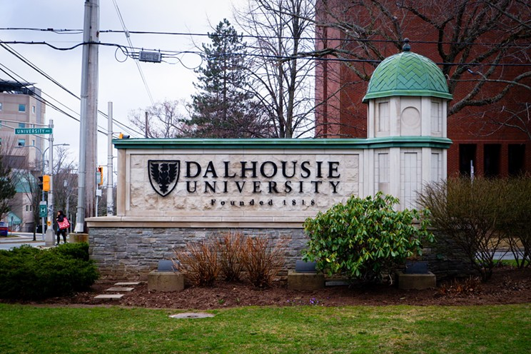Dalhousie University is tightening up how people move out of residence in the lockdown. JONATHAN WERBITT
