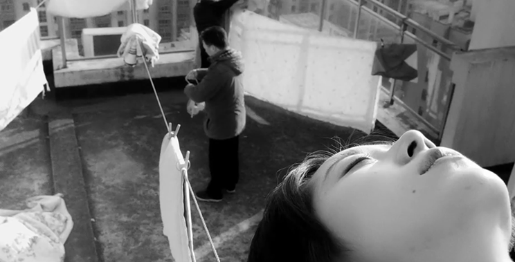 Xinyuan Zheng Lu's The Cloud In Her Room follows the dreamlike demise of a young woman's former life.