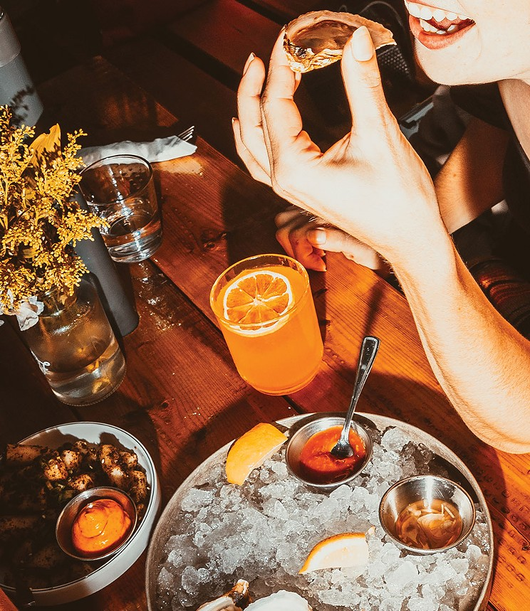 At Dear Friend in Dartmouth, oyster happy hour lets your worries slip away. JAMES MACLEAN