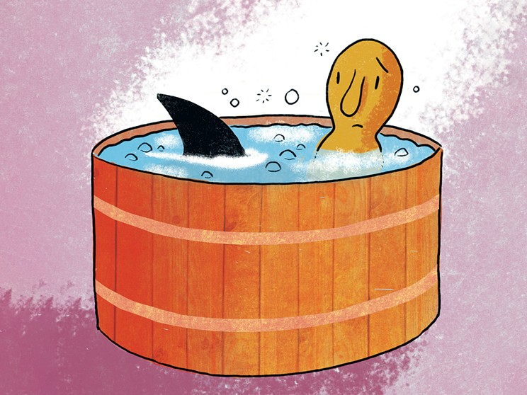 What to do when your spouse and your best friend cheat in the hot tub.