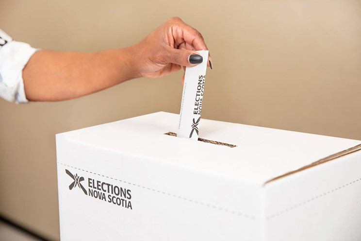 Ballots cast during early voting were not stolen during Sunday's break-in at the Clayton Park West returning office.