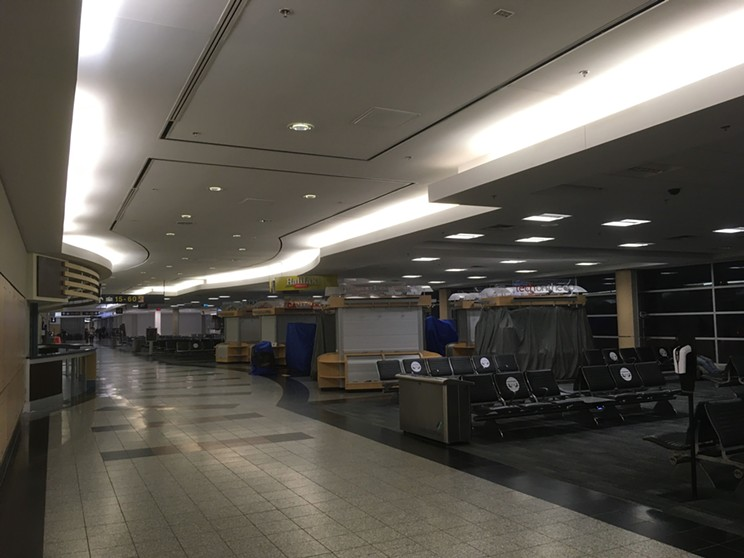 US flights are allowed to land at Halifax Stanfield, but the airport is still only operating at about 30 percent capacity compared to pre-pandemic numbers.