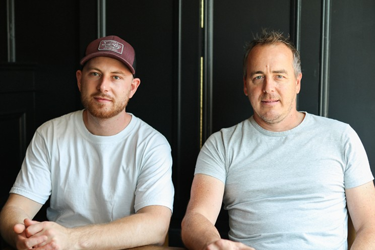 Owner Tommy, right, and head chef James Millar are bringing classic—but elevated—British-style pub fare to Quinpool Road.
