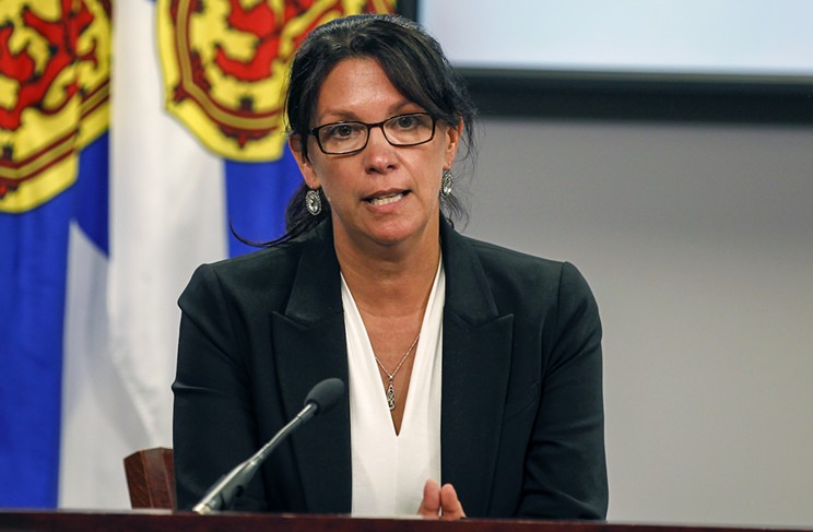Health and wellness minister Michelle Thompson is a registered nurse and former CEO of a nursing home.