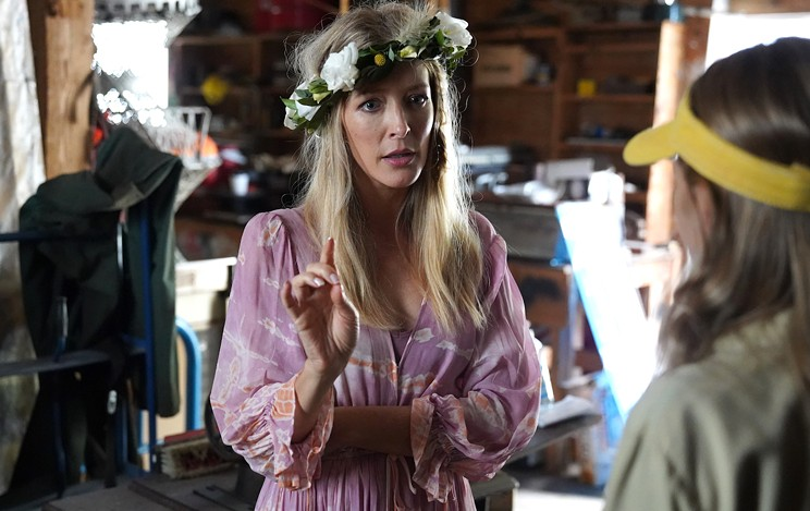 Jennifer Finnigan plays a familiar character in Moonshine, the sibling who left Nova Scotia and causes chaos by returning.