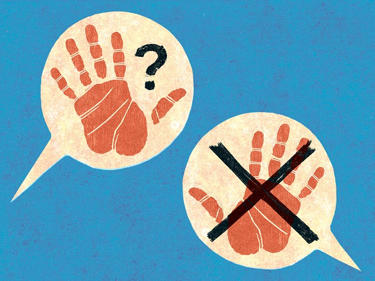There's always a risk of friends—even masaage therapist friends—catching feelings.