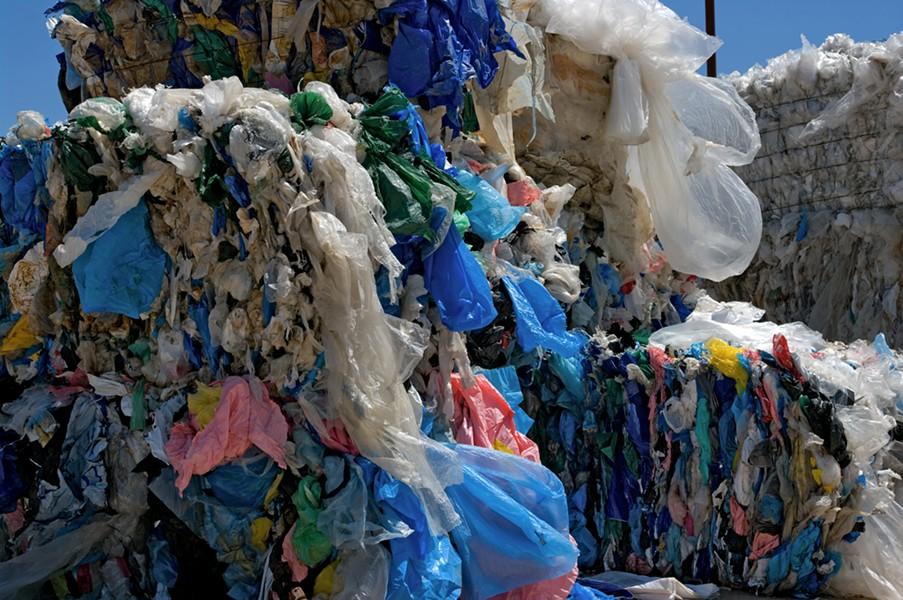 Plastic bags like these will soon be shipped from Halifax to a landfill in West Hants because it's better for the environment (than trucking them across Canada). - VIA ISTOCK