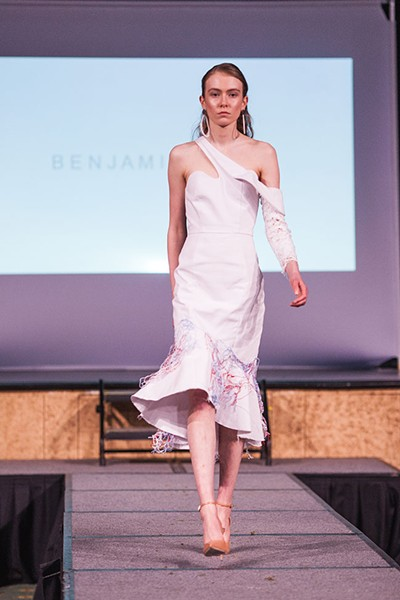 Benjamin Waye design, with jewellery by  Borguesse Mozaffarian. - MEGHAN TANSEY WHITTON