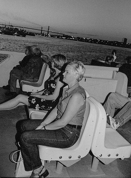 Breezy ferry night - HANNAH THOMSON