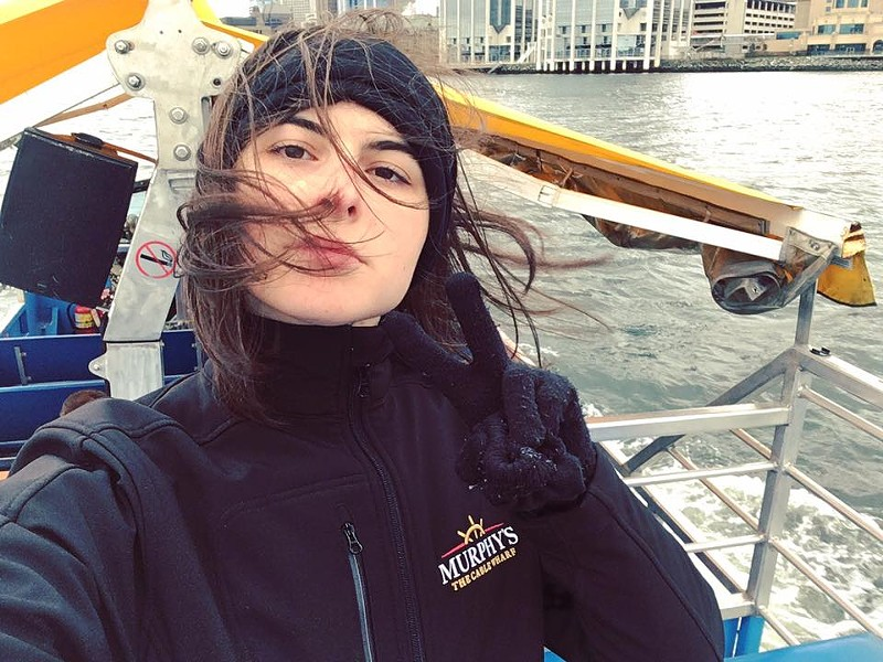 Jessica MacIsaac is a music student—kind of at King's, kind of at Dal. She (shockingly) still loves tourism and helps run a tour company called Halifax Free Walking Tours. - SUBMITTED