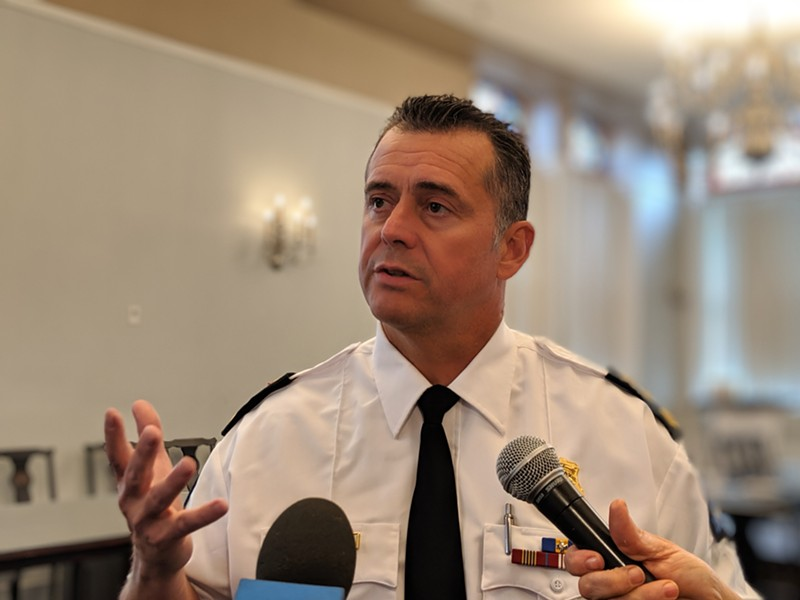 Halifax Police Chief Dan Kinsella says a new support division might lend a hand to traffic enforcement. - THE COAST
