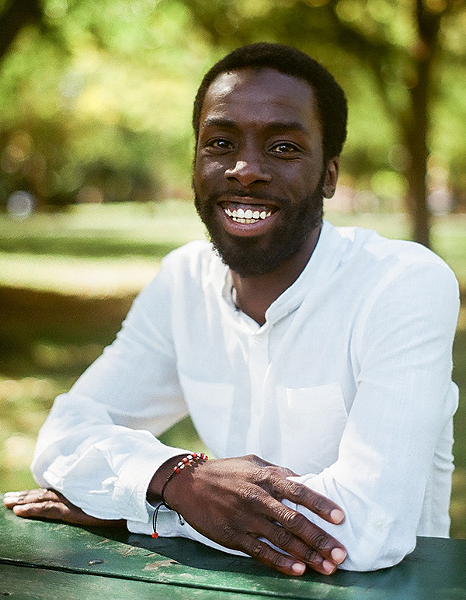 "Desmond Cole says his book is for ""anybody who longs for racial justice."" - KATE YANG-NIKODYM"
