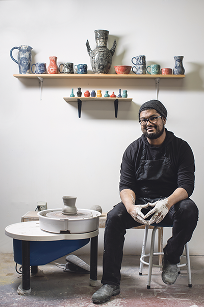 """For Kaashif Ghanie, art is """"something I can't live without now."""" - MEGHAN TANSEY WHITTON"""