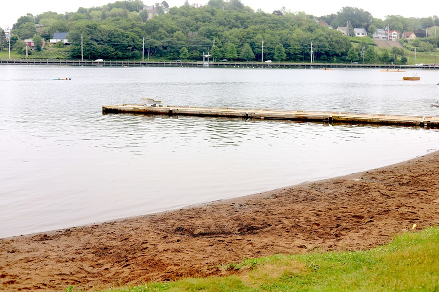 Birch Cove Beach is one of several sandy shores surrounding Lake Banook. - THE COAST
