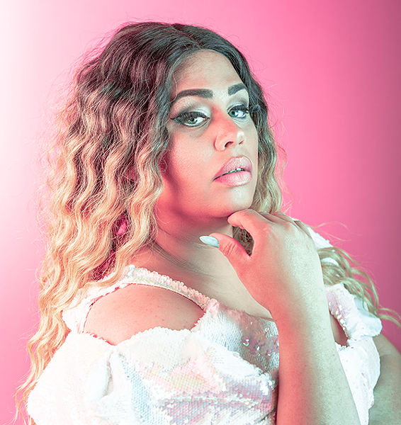 Elle Noir was the cover star of last year's Coast pride guide. She's also hosting a can't-miss performance showcase on Facebook on July 18. - DANIEL DOMINIC