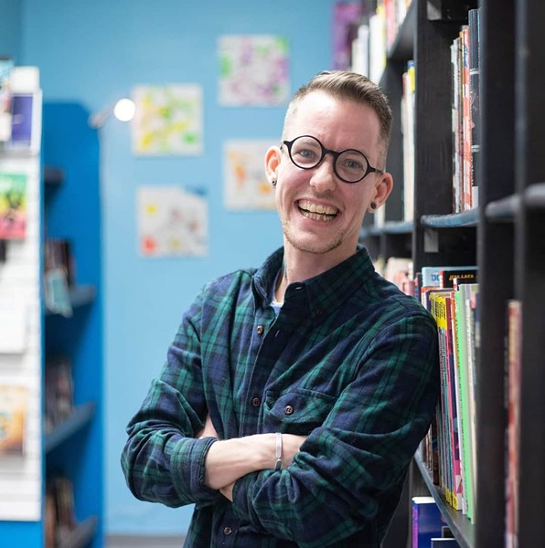 Jay Roy wanted to create a safe space for the 2SLGBTQ+ community in Sackville. - SUBMITTED