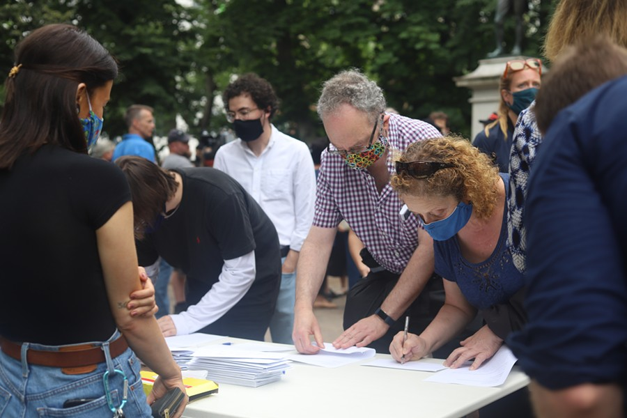 Activists have started a letter-writing campaign to members of both the provincial and federal governments. - VICTORIA WALTON