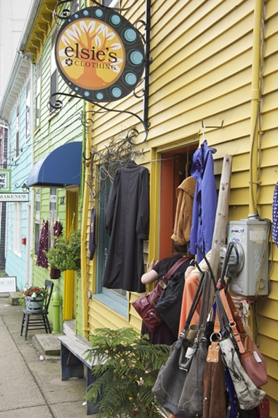 Make like you're in the West Village at Elsie's Clothing