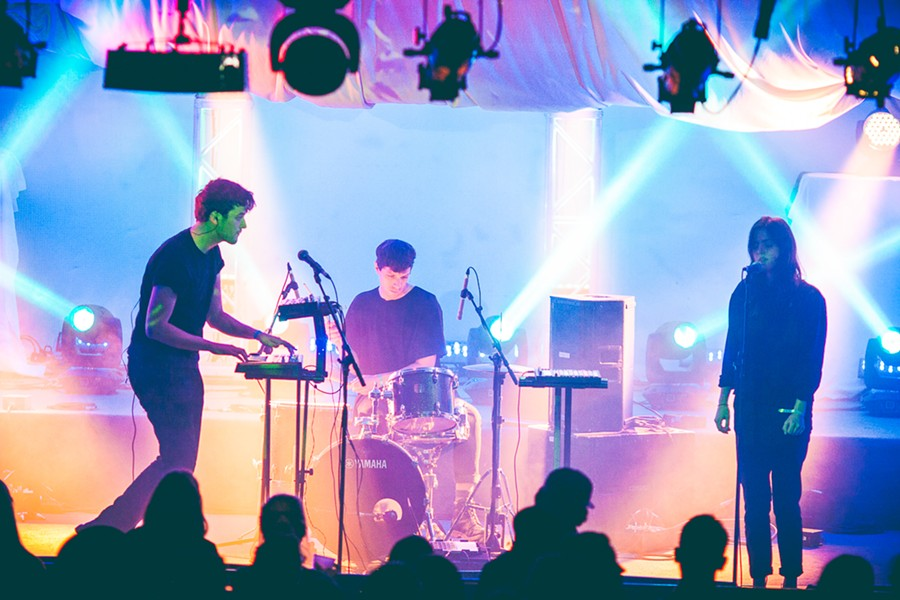 Vogue Dots at Secret Songs Showcase, Olympic Hall - LENNY MULLINS